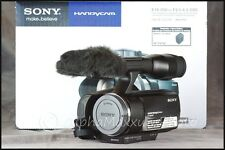 Sony Handycam HD NEX-VG10 AVC, AVCHD Camcorder (No Lens) -Minty w/ 3 yr Warranty