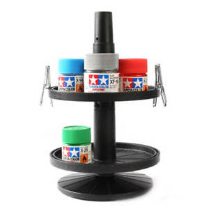 Tamiya Paint Pot Rotating Stand Set #1589