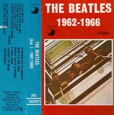 "K 7 AUDIO (TAPE)  THE BEATLES  ""1962-1966""  (MADE IN SPAIN)"
