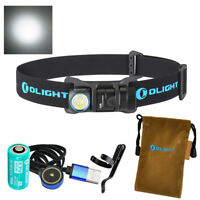 Olight H1R 600 Lumen CREE XM-L2 CW LED Rechargeable Headlamp / Flashlight