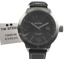 TW Steel Herren/Damen Uhr TWMC46 Marc Coblen Edition, Leder, 50 mm, NEU