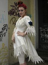 FIORITO weißes Spitzenkleid Kleid 80s True VINTAGE 80er woman dress with lace