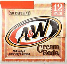 A&W Caffeine Free Cream Soda 12 pack