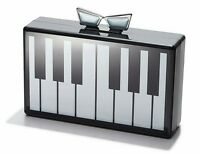 Love Bravery Piano Clutch Lady GAGA Elton John Collab Acrylic Box Purse