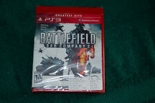 PS3 PLAY STATION 3 GAME BATTLEFIELD BAD COMPANY 2 ONLINE WARFARE & HALO4 NEW