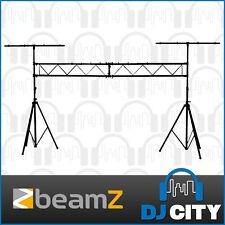 BEAMZ DJ Light Stand Stage Lighting Truss Kit LS-180 Tripod Stand Pack