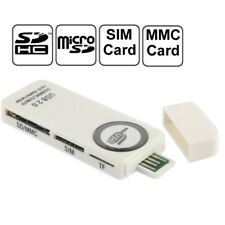 USB 2.0 All in One Multi Memory Card Reader CF SD SDHC MS TF M2 XD MMC AU