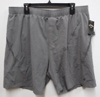 Callaway Golf Shorts Mens Size 2X Gray Opti Dry Ventilated Athletic Shorts New