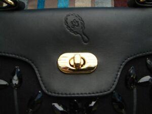 Beautiful Genuine Lulu Guinness Handbag. Black