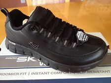 Skechers Women's Slip Resistant Work Shoes Size 9 Wide New