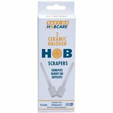 Easy-Do Hobcare 2 x Ceramic Halogen Hob Scrapers ,Hob Cleaner for Hotpoint Creda
