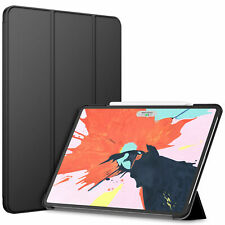JETech Case for Apple iPad Pro 12.9-inch 2018 Smart Cover Auto Sleep Wake Black
