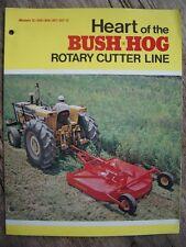 Vintage Original Heart of the Brush Hog Rotary Cutter Line Flyer