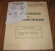 1950 John Deere DAIN Mower Parts Catalog Manual Book PC-H71  1950