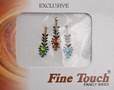 Bindi bijou de peau front Bollywood multicolore dot tilak IND-R 1355