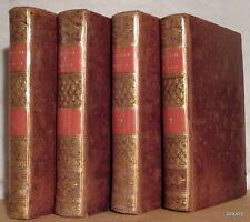 COMMEDIE DI GIO. GHERARDO DE ROSSI 4 vol 1790 TRÈS BEL EXEMPLAIRE RELIÉ