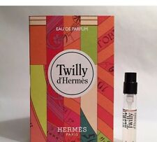 Twilly d'Hermes Eau de Parfum for women Sample Spray 2 mL Via 2017 - Free Ship!