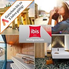 Kurzreise ibis Multi Gutschein Auswahl Hotels 3 Tage für 2 Personen + Frühstück