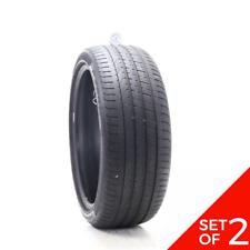 Set Of 2 Used 24540r20 Pirelli P Zero Moe Run Flat 99y 5 5532 Fits 24540r20