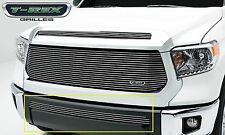 Fit 2014-2015 Toyota Tundra Aluminum Polished Billet Grille Insert Horizontal