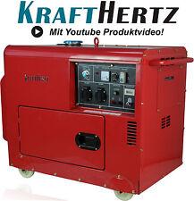 Dieselgenerator Stromerzeuger 5,5KW 12V 230V Notstrom-Aggregat Generator