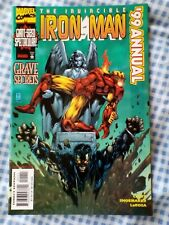 Invincible Iron Man annual 1999   giant size.
