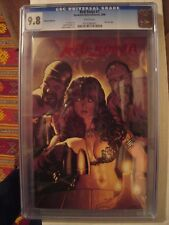 Red Sonja #7 Red Foil Edition CGC 9.8 Adam Hughes Cover