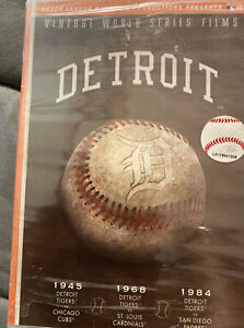 Vintage World Series Films: Detroit Tigers (DVD, 2007)