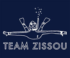 Brand New TEAM ZISSOU TSHIRT The Life Aquatic SM-5XL