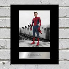Tom Holland Signed Mounted Photo Display Spider-Man #1