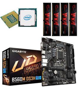 Bundle PC 104: Intel I5 11600K 6x 4,9 Ghz Turbo Gigabyte B560M-DS3H