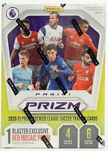 2020/21 Panini Prizm Premier League Soccer 6-Pack Blaster Box (Red Mosaics)