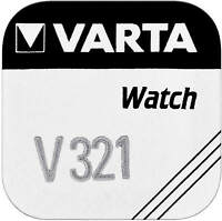 10x VARTA Watch V 321 Uhrenzelle Knopfzelle SR616 SW V321 Uhrenbatterie 1'er BL