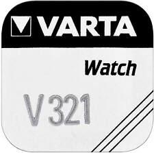 5 VARTA Watch V 321 primär Silber Uhrenbatterie BLISTER Sr616 SW Batterie