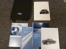 2006 Ford Five Hundred Sedan Owner Owner's Manual User Guide SE SEL Limited CVT