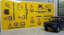 Land Rover Defender 87-06 Diesel Conducto Para Calentador Sello Genuino LR MRC8378