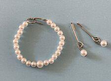 Vintage Doll Pearl Choker Necklace Jewelry Cissette Little Miss Revlon Toni Jill
