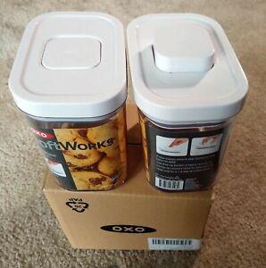 oxo softworks: 2-piece pop container set/1.7qt/1.5L