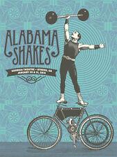 Alabama Shakes Gig Poster, Athens GA 2015 (Original Silkscreen) 18 x 24' Print
