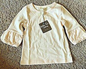 Matilda Jane Shirt Pink Ruffle Sleeve Size 10 NWT
