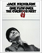 ONE FLEW OVER THE CUCKOOS NEST 8x10 Photo Jack Nickolson Poster Print 1975
