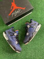 Nike Air Jordan 4 Winter 'Loyal Blue' Men's Size 8.5 Blue/Black CQ9597-401