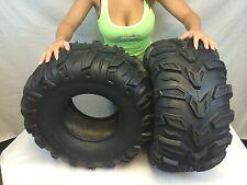 2 New 25x11-10 ATV Sedona Mud Rebel Tires  25x11x10   25 11 10 set lite
