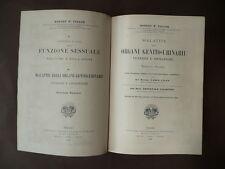 Medicina Urologia Ginecologia Dermatologia Libri figurati'800 Taylor Torino 1904