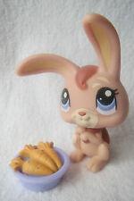 Littlest Pet Shop LPS #1399 Bunny Rabbit Con Carote (2010)