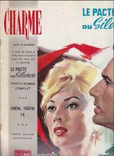Charme N° 2/1960 - Le Pacte du Silence, Hélène Rémy Corrado Alba P. P. Silvani