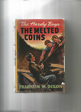 HARDY BOYS MELTED COINS (VG-) IN JACKET 1949