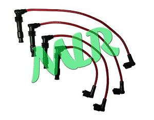 VAUXHALL ASTRA CORSA TIGRA VECTRA 16V ECOTEC 8MM RED IGNITION HT LEADS AT