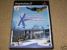 ESPN Winter X-Games Snowboarding Sony Playstation 2 ps2 Boxed Game Disc anweisen