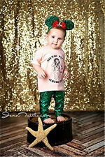 2016 4ft*6ft Sparkly Shimmer Gold  Curtain Sequin Fabric Photography Backdrop